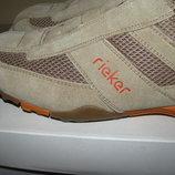 Нові дихаючі шкіряні брендові туфлі Reiker Оригінал Німеччина р.43 стелька 28,5 см