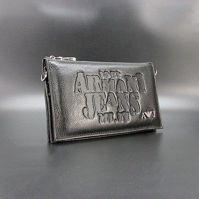 Клатч кожаный мужской на плечо Armani 921-1