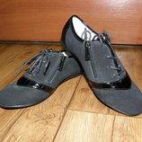 Замшевые туфли для девочек