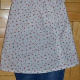Рубашка блузка туника для модницы прованс 86 см