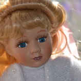Фарфоровая куколка из США keepsake Porcelain Doll