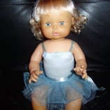 Очень красивая кукла балеринка Giochi Preziosi Италия оригинал клеймо винтаж 40 см