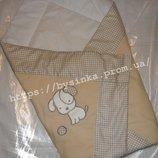 Конверт-Одеяло на выписку новорожденного - Сова