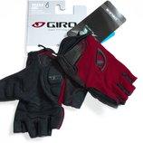 Giro Tessa Ruby Red велосипедные перчатки женские детские подростковые без пальцев