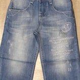 Капри из облегченного джинса