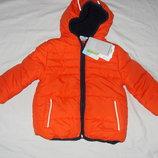 оранжевая куртка от Topolino -унисекс