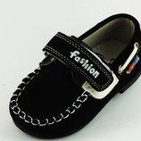 Обувь для мальчика туфли, мокасины в наличии, Тм Солце