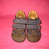 Демисезонные кожаные полуботинки Bama - 22 размер
