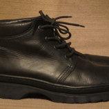 Мощнейшие добротные черные кожаные ботинки Mаnfield. Англия. 45 р.
