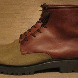 Нетривиальные комбинированные ботинки Fred de la Bretoniere. Голландия