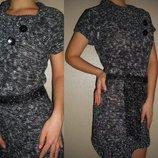Платье-туника теплое 10-12 р.