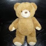 Шикарный мягкий шарнирный Мишка Медведь винтаж из Германии рычалка
