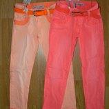 Коттоновые летние брюки для девочек