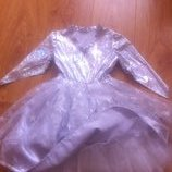 Красивое платье снежинки, метелицы, снегурки