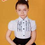 Школьная форма - Блузки школьные 122, 128, 134 Ооо Зиронька, Тм Веснушка