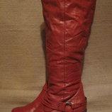 Мягкие высокие кожаные сапоги SPM shoes & boots. Голландия. 37 р.