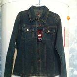Джинсовая курточка-рубашка