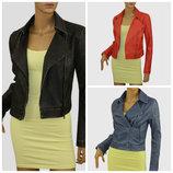 Женская куртка-косуха три цвета.НЕДОРОГО с Европи