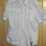 Легкая спортивная рубашка с коротким рукавом. Firetrap. Англия. L.