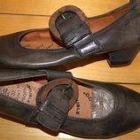 Фирменные туфли Double размер 37. Кожа