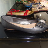 Распродажа балетки с усиленным носиком Sopra графит