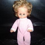 Коллекционная винтажная виниловая кукла-немочка ARI Германия оригинал клеймо номер 26 см
