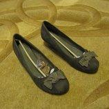 Туфли Монарх, темно-серые 26 см , Замш Супер цена