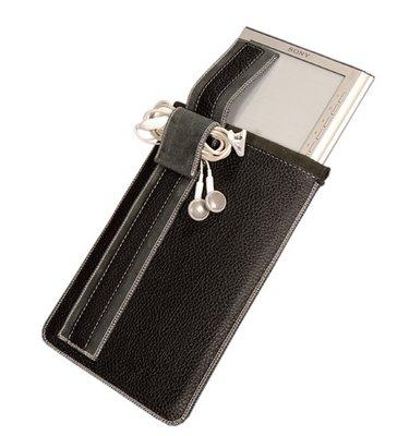 Чехол для планшета, кармашек, 7 дюймов, 7 Petrol, натуральная кожа, внутри замш