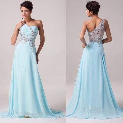 d4818671221 Шикарное голубое платье в пол  3015 грн - женские вечерние платья в ...