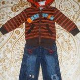Комплект джинсы кофта