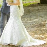 Платье свадебное очень красивое и нежное