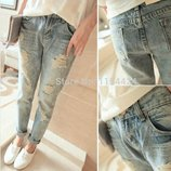 джинсы женские БОЙФренд рваные