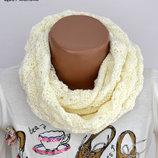 Весенний шарф-кольцо Ёжик заказ от 1 шт заказ каждый понидельник