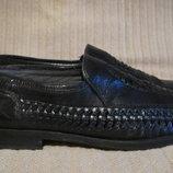 Очень мягкие летние туфли с плетением Russell & Bromley.Англия- Италия