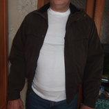 коричневая мужская демисезонная куртка маленького размера из Америки