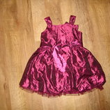 Нарядное платье George на 1,5-2 года с сумочкой