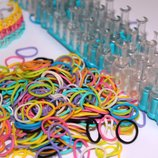 Станок Rainbow Loom резинки 600 шт для плетения браслетов