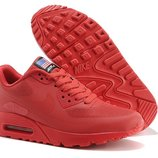 Женские кроссовки Nike Air Max 90 Hyperfuse - красные