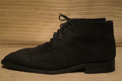 Отличные черные ботинки из рифленой кожи Van Gils. Голландия. 11 р.