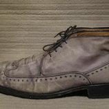 Стильные кожаные ботинки - броги Noir & Co. Греция. 44 р.