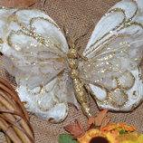 бабочка на прищепке 25 грн.