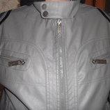 серая демисезонная куртка, красивая и добротная из Америки