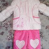 Полукомбинезон куртка Disney