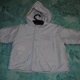 Демисезонная курточка DuDu на мальчика или девочку с 7 месяц до 1,5 лет
