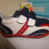 Кожаные демисезонные туфли 21 р. на мальчика, демі, кроссовки, туфлі, кросівки, весна, осень, шкіра