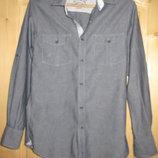 Почти джинсовая рубашка Cedarwood state Ирландия. 44 р.