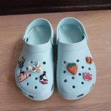Кроксы аквашузы ветнамки 19,5 см детские Crocs Крокс ОРИГИНАЛ обувь для пляжа бассейна