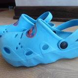 Кроксы аквашузы ветнамки 18,3 см детские 27 р Disney Дисней тачки маквин обувь для пляжа бассейна