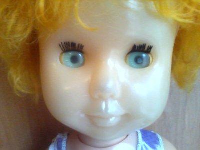 Кукла СССР Ворошиловград 52 см пластик на резинках, ходящая