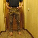 Молодежные джинсы цвета хаки Denim CO Ирландия. 32/32
